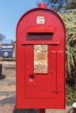 Boîte aux lettres historique au monument de Voortrekker à Pretoria image stock