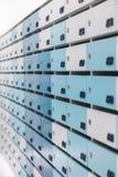 Boîte aux lettres pour des données, l'information et des actualités photographie stock libre de droits