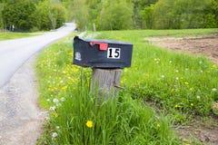 Boîte aux lettres rurale Photo stock