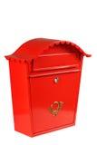 boîte aux lettres traditionnelle Photographie stock