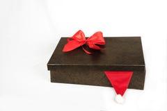 Boîte avec les présents et l'arc de colorfull Images stock