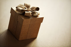 Boîte-cadeau Photographie stock