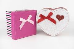 Boîte-cadeau, amour Image libre de droits
