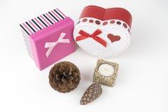 Boîte-cadeau, amour Image stock