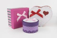 Boîte-cadeau, amour Images stock