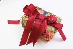 Boîte-cadeau de tissu Image libre de droits