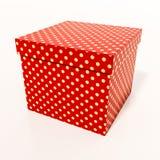 Boîte-cadeau rouge Images stock