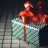 Boîte-cadeau vert Images libres de droits