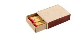 Boîte d'allumettes Images stock