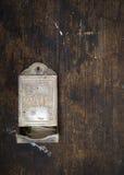Boîte d'allumettes antique Photos stock