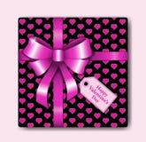 Boîte d'amour de salutation Photos libres de droits