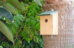 Boîte d'oiseau Images libres de droits