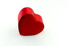 Boîte dans la forme de coeur Image libre de droits