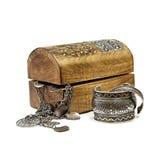 Boîte de bijoux Photos libres de droits