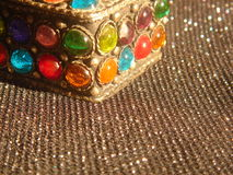 Boîte de bijoux Photographie stock