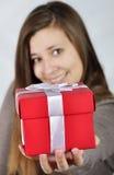 Boîte de cadeau Images libres de droits