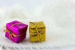 Boîte de cadeaux Photo stock