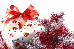 Boîte de cadeaux Photo libre de droits