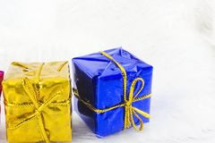 Boîte de cadeaux Images stock