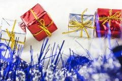 Boîte de cadeaux Images libres de droits