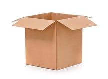 Boîte de carton Image stock