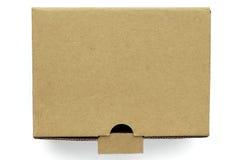 Boîte de carton Photos libres de droits