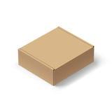 Boîte de carton Photos stock