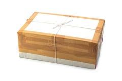 Boîte de colis Photos stock
