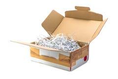Boîte de colis Image stock