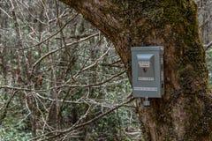 Boîte de compteur de traînée de NPS photos stock