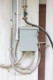 Boîte de contrôle électrique. Images libres de droits