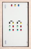 Boîte de contrôle électrique Image stock
