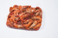 Boîte de crevette Choso Photos stock