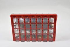 Boîte de dosage photos stock