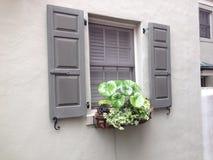 Boîte de fenêtre Photo stock