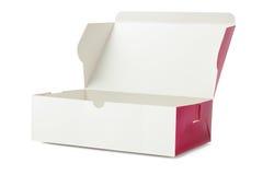 Boîte de gâteau à emporter Images stock