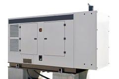 Boîte de générateur de courant électrique de secours image libre de droits