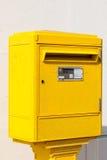 Boîte de lettre dans la rue Images stock