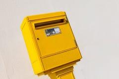 Boîte de lettre dans la rue Photo stock