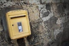 Boîte de lettre française Images stock