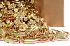 Boîte de munitions Image libre de droits