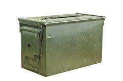 Boîte de munitions Photographie stock