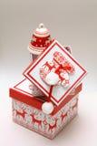 Boîte de Noël Image stock