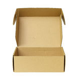 Boîte de papier Images stock