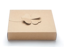 Boîte de papier Image stock