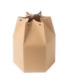 boîte de papier brune Photos libres de droits