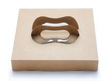 boîte de papier brune Image libre de droits