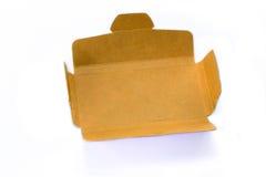 Boîte de papier de carton Photos stock