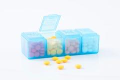 Boîte de pilule Photos stock