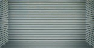 Boîte de plaque métallique vide de pièce pour l'affichage de produit Images libres de droits